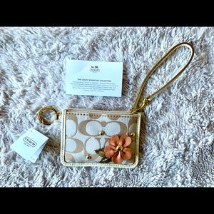 coach card holder case app id skinny